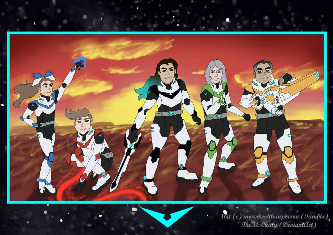 Voltron: Next Gen comic (page 5)