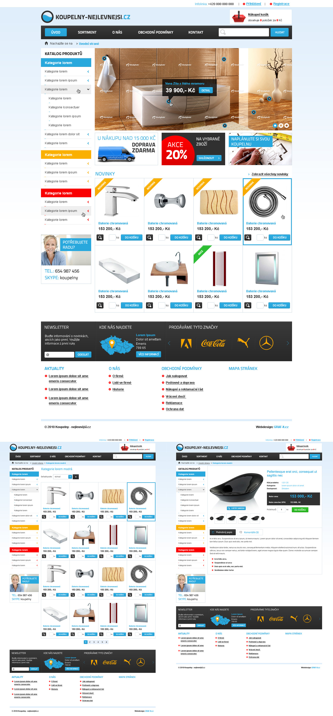 Bathroom e-shop by skorky