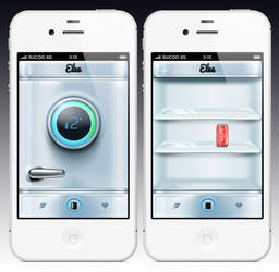 Elee fridge app by skorky