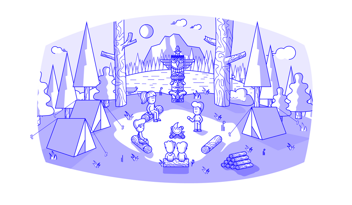 Camp by skorky