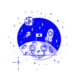 Moon by skorky