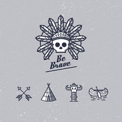 Be Brave icons