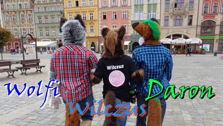 Furries in Wroclove! by Daron1995