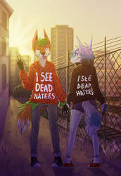 I SEE DEAD HATERS by Daron1995