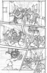 The Devil and the Detective #3 Page 3 Pencils by JJ422