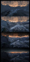 Sunrise Mountains Steps