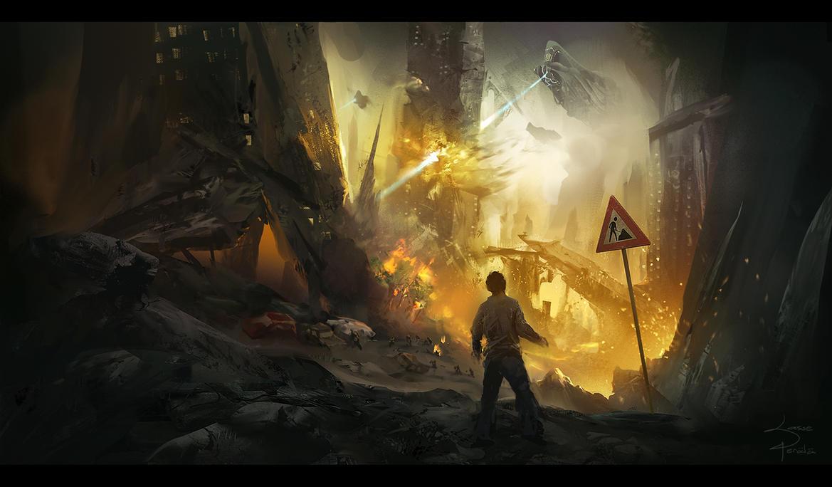 Alien Invasion By Lapec On Deviantart