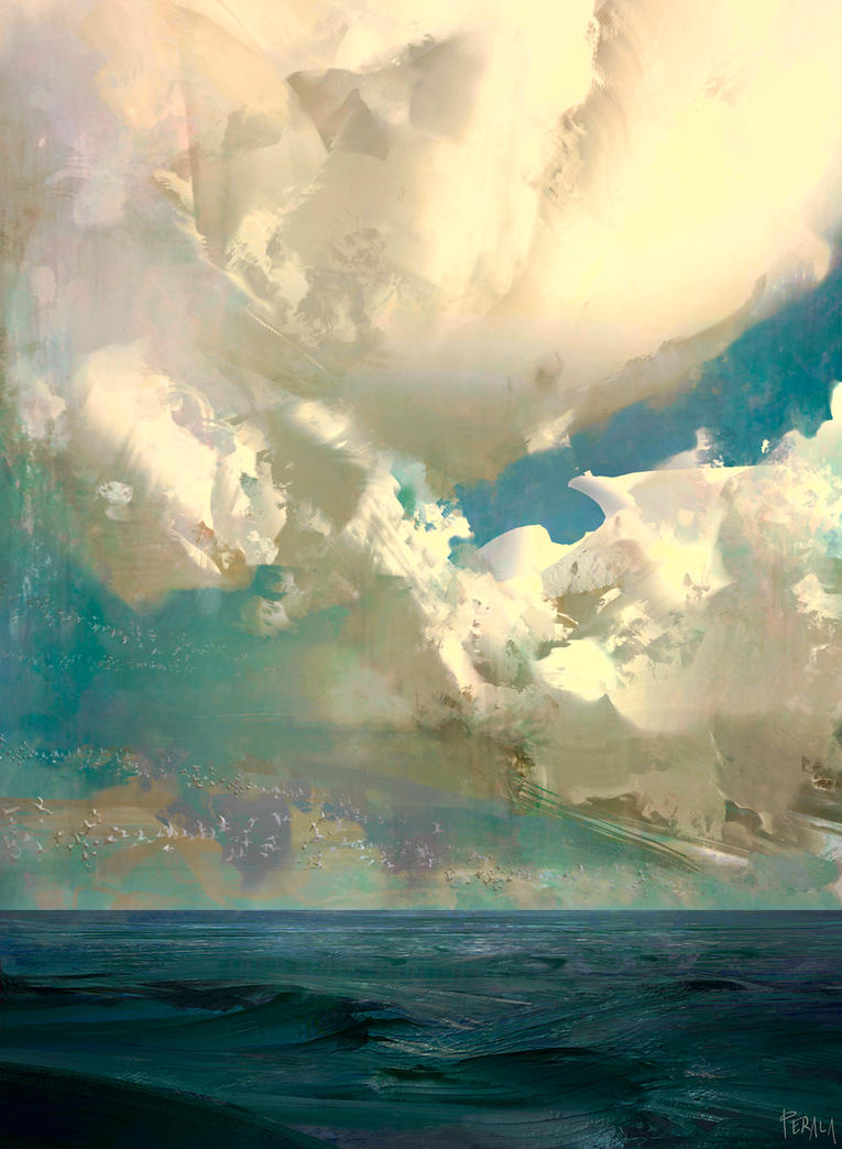 Sea Clouds by Lapec