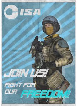 ISA Recruitment Poster