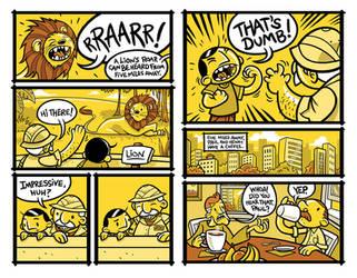 That's Dumb:Lion Skit by Vin-Rock