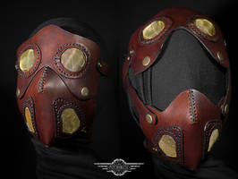 Cremator leather mask