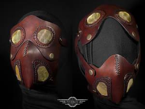 Cremator leather mask
