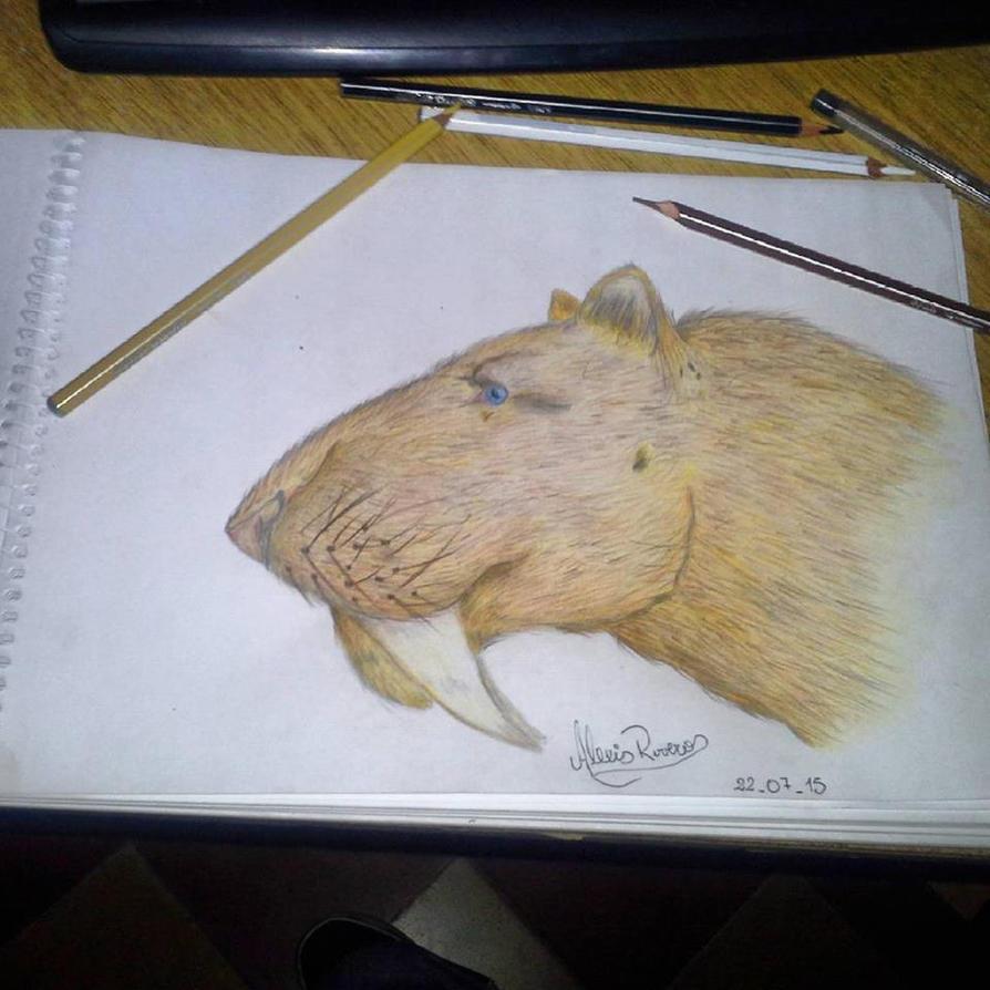 Smilodon populator by piche2
