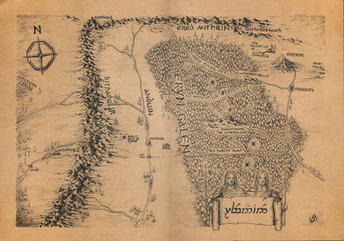 Rhovanion Map