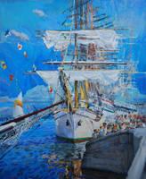 Selebration on water by Babichev