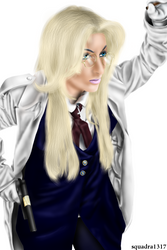 Sir Integra Hellsing with gingerannelondon by squadra1317