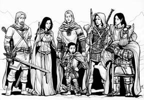 Seven heroes by WillDan