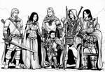 Seven heroes
