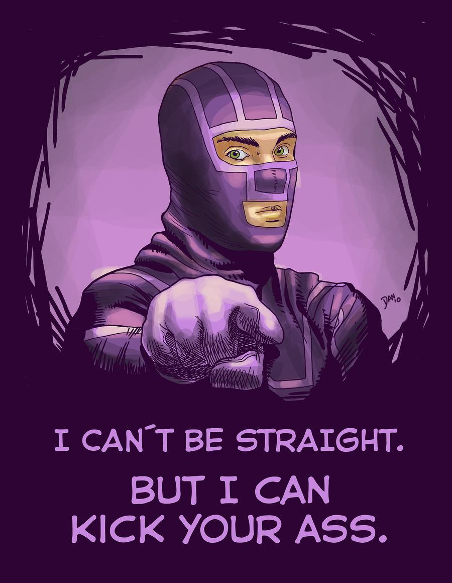Can kick u ass by WillDan
