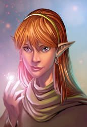 Lodoss elf by WillDan