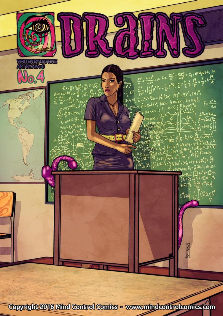 Cover Drains#4 Mind Control Comics by AVAt0