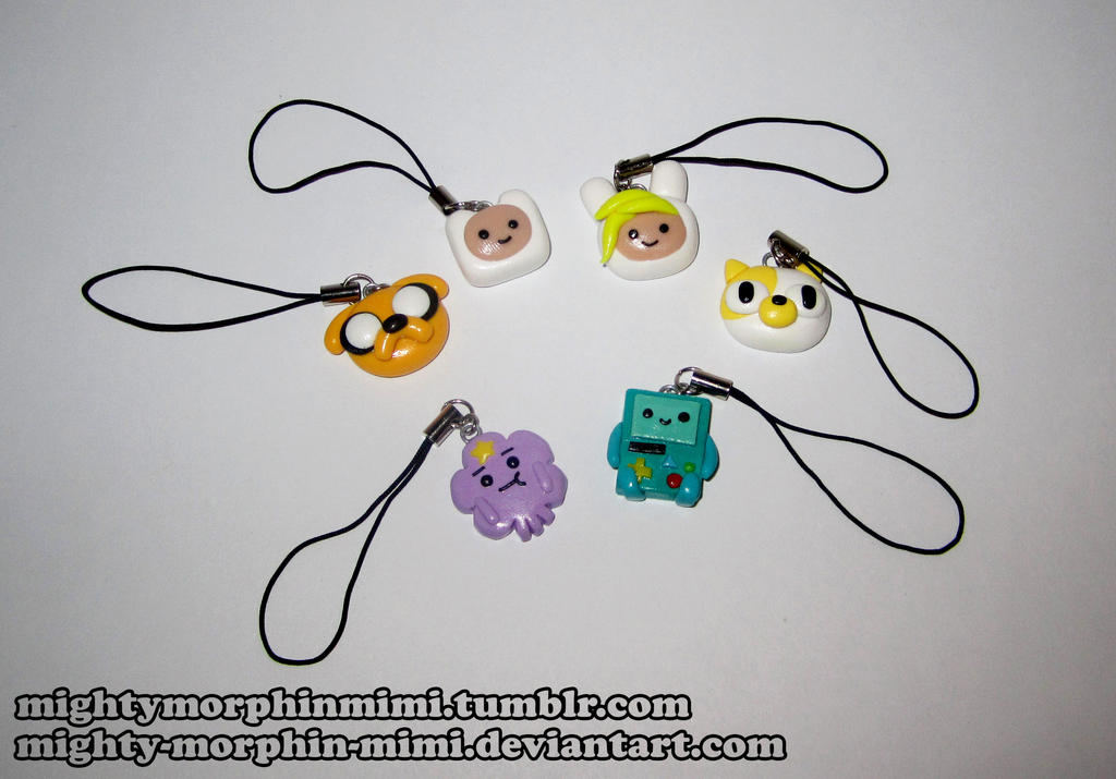 Adventure Time Phone Charms by Mighty-Morphin-Mimi