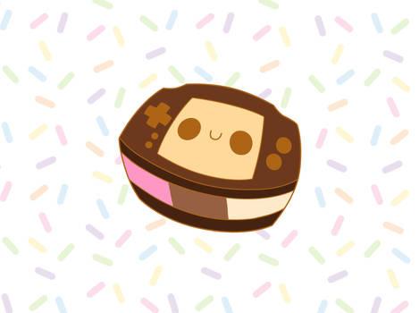 Neopolitan Ice Cream Gba Enamel Pin Kickstarter