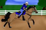 Magic - Show Entry - Barrel Racing by Tornados-Heart