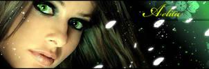 green eyes by aeli9