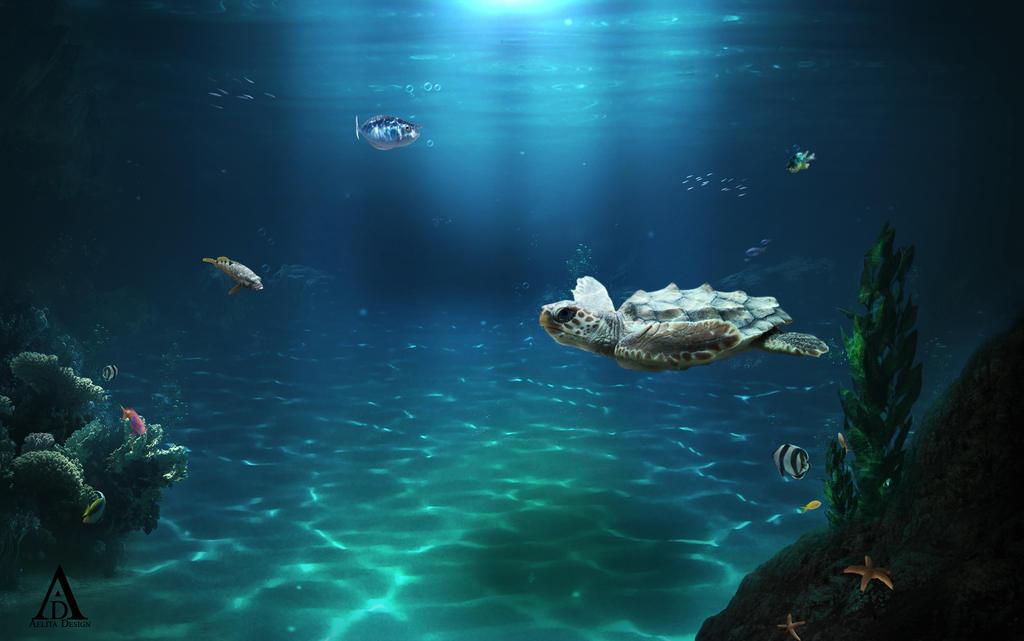 Underwater by aeli9