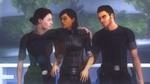 Happier times - Femshep, Ashley and Kaidan