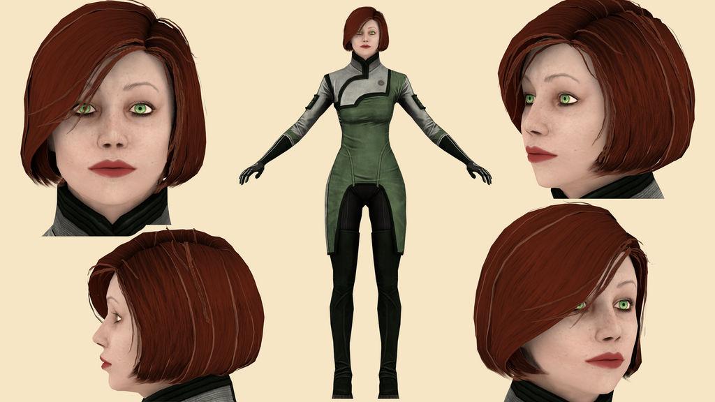 Download Doctor Michel (Mass Effect 3) for blender
