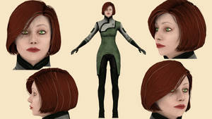 Download Doctor Michel (Mass Effect 3) for blender by ghenson