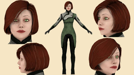 Download Doctor Michel (Mass Effect 3) for blender