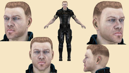 Download Commader Bailey (ME 3) for blender