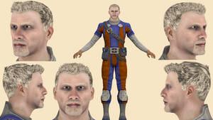 Download Conrad Verner (Mass Effect 3) for blender by ghenson