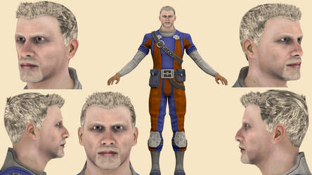 Download Conrad Verner (Mass Effect 3) for blender