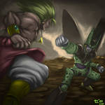 Cell vs Broly