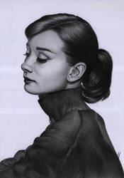 Hepburn by sarej