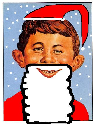 Alfred E Neuman as Santa by ZigZag123