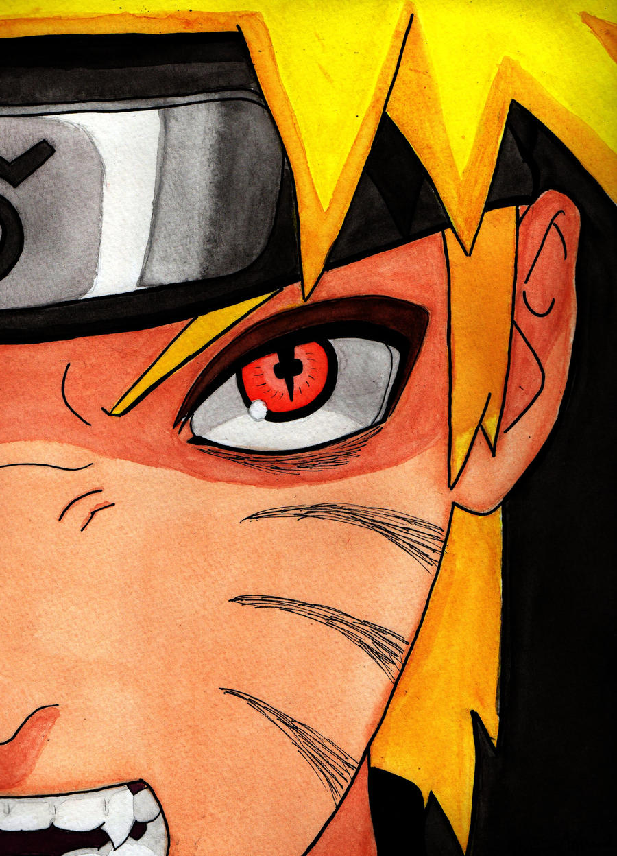 Naruto Kyuubi Sage Mode by xxLunaBxxSage Mode And Kyuubi Mode