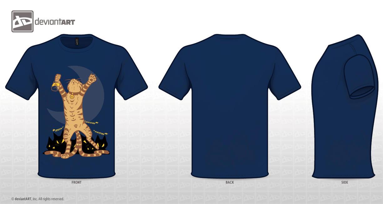 dA T-shirt Nekomata by AngelOfWolves