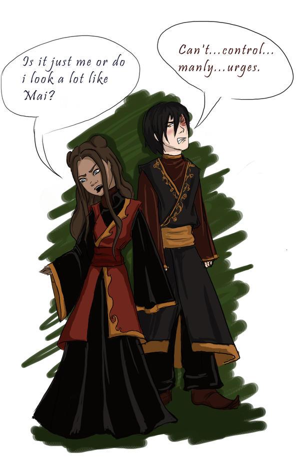 Zuko and Katara...Contest by Squirrelland on DeviantArt
