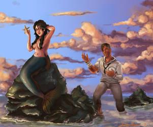 Ma Petite Sirene by napalmzonde