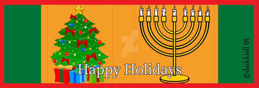 Happy-Holidays 1-f by darkKiell
