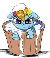 Dashy Bath Time by Chopsticks-Pony