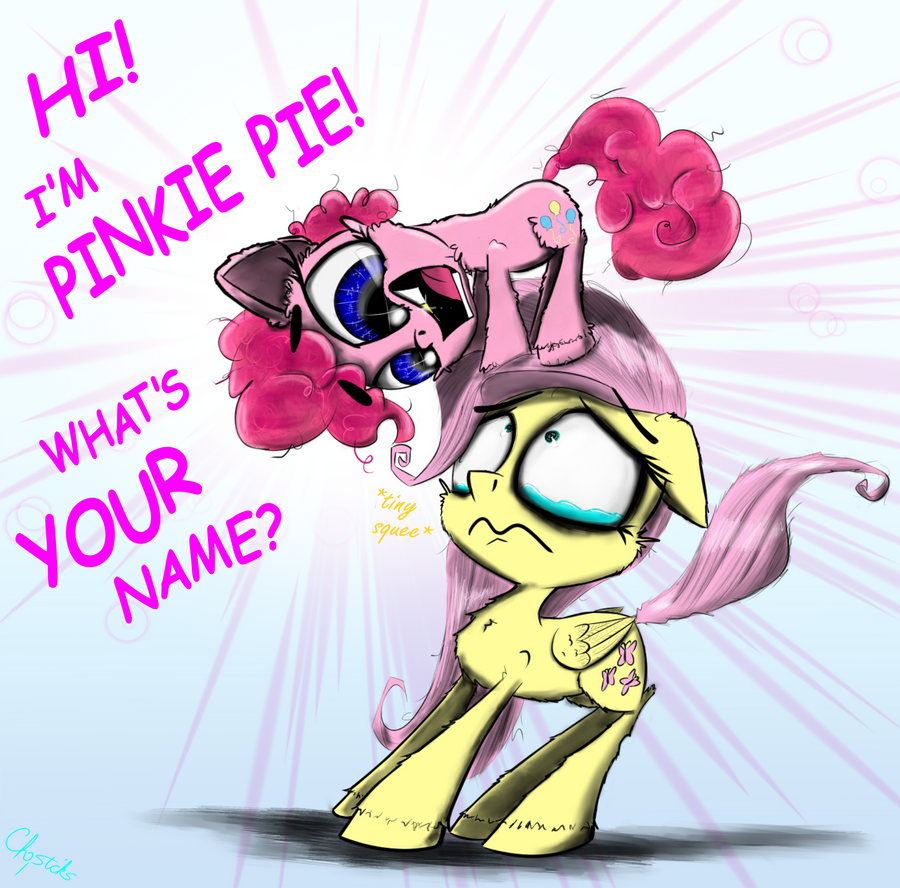 Pinkie Meets Flutters