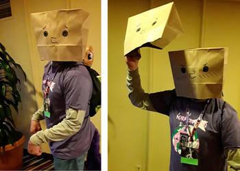 Paper Bag Cosplay by Chopsticks-Pony