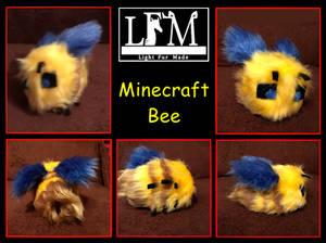 Fursuit Commission - Minecraft Bee