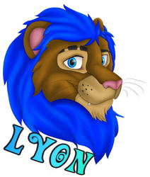 Badge Commission - Lyon the Lion
